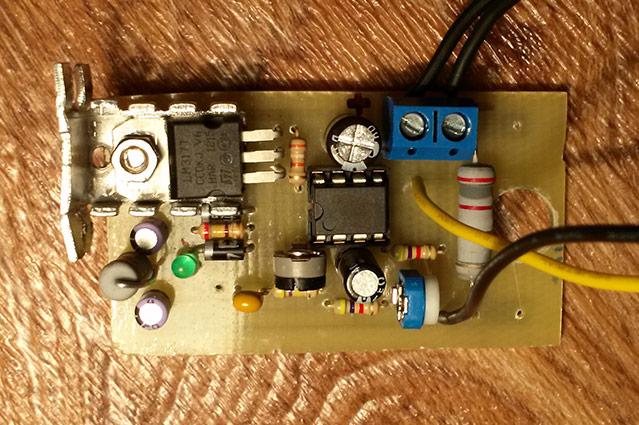 Ковырялка для ПП на шим-контроллере